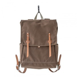 MAKR - Farm Ruck Sack Tobacco Canvas and Natural Horween® HS Leather
