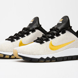 Nike - Free Trainer 5.0 LE (Paid In Full) - White/Metallic Gold/Black