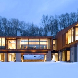 AE5 partners - Winter House in Kaga