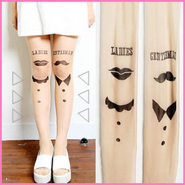 ladies&gentlemen tatoo tights