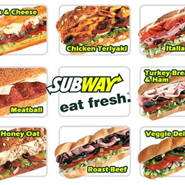 SUBWAY - eat fresh.