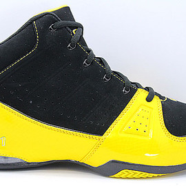 AND1 - AND1 Storm Mid アンドワン ストーム ミッド(Black/Gold)