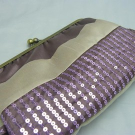 "Luulla - 10"" Fancy Clutch -Sequins"