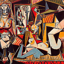 Pablo Picasso - The Women of Algiers