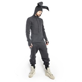 Blamo Toys - Rabbit Onesie grey