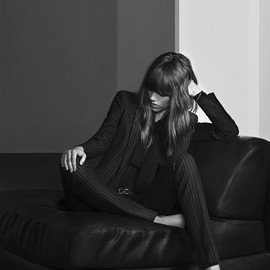 Saint Laurent - Discover the Saint Laurent pre-fall 2013 campaign starring Freja Beha and shot by Hedi Slimane.