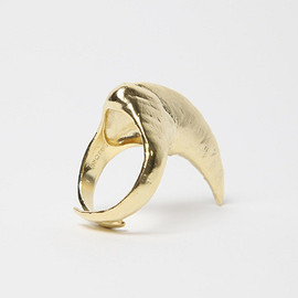 BJØRG  - ODYSSEY HOWLING AT THE MOON SINGLE CLAW RING