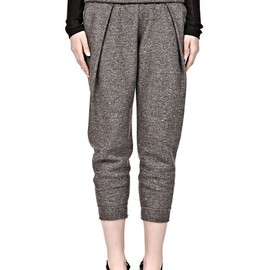 ALEXANDER WANG - LOW RISE PLEATED JOGGING TROUSER
