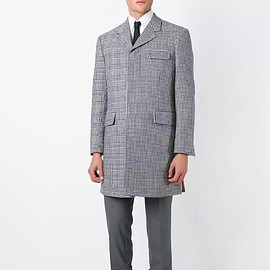 Thom Browne - houndstooth overcoat