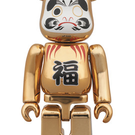 MEDICOM TOY - BE@RBRICK 達磨 金メッキ 100%