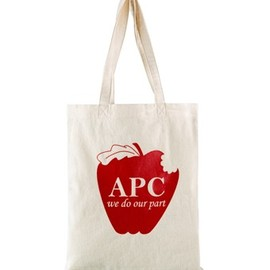 A.P.C. - Apple shopping bag