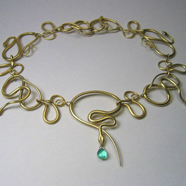 Gabriella Kiss - Snake Necklace