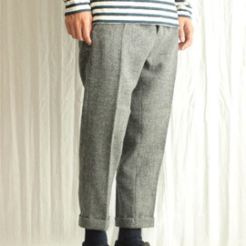 TROVE - KLEE PANTS [33PAN-02/MIX GRAY]