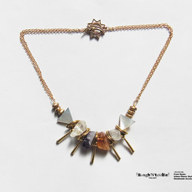Rough'N'tumble - (再)「Rough'N'tumble」Rough rock necklace