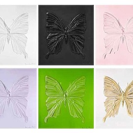 LALIQUE, Damien Hirst - Crystal Butterfly Panels