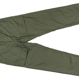 SASSAFRAS - Green Man Pants-Back Satin-Olive