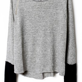 sheinside - grey knit