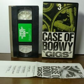 BOØWY - GIGS CASE OF BOØWY 3 [VHS]