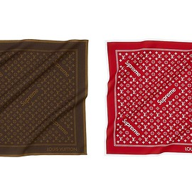 LOUIS VUITTON, Supreme - Monogram Bandana