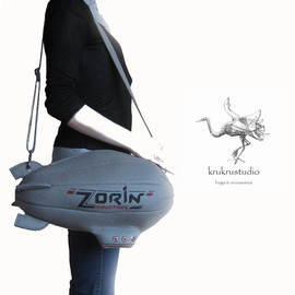 krukrustudio - Zorin Airship Bag (from James Bond Movie)