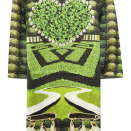 Mary Katrantzou  - Printed silk dress
