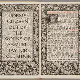 edited by F.S. Ellis - Poems chosen out of the works of Samuel Taylor Coleridge, Kelmscott Press, 1896