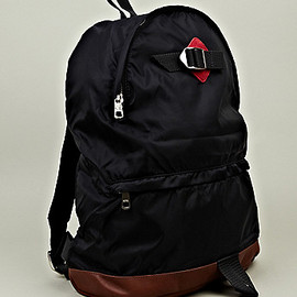 A.P.C. - Hiking Backpack in navy x brown