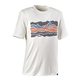 patagonia - Men's Capilene Daily Graphic T-Shirt - Altitude Check: White