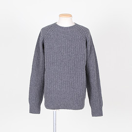 CHAUNCEY - Ribbed Seamless Jumper - Derby Gre