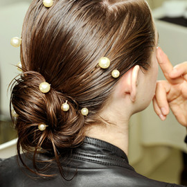 CHANEL  - 2012SS Pearl Hair Accessory