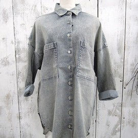 FAD3 - Cotton Lyocel Denim BIG SHIRTS
