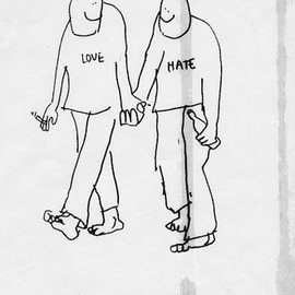Mark Gonzales - LOVE AND HATE