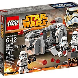 LEGO - Lego star wars Imperial Troopers Transport 75078