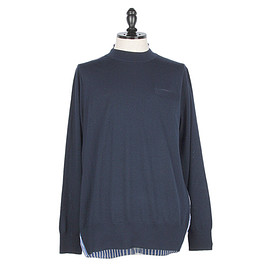 sacai man - SWITCHED PULLOVER SHIRTS SWEATER