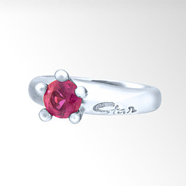 STAR JEWERY - BABY RING RUBY(7月)
