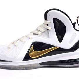 NIKE - LEBRON IX P.S. ELITE 「ELITE SERIES」 「LIMITED EDITION for NONFUTURE」 WHT/GLD