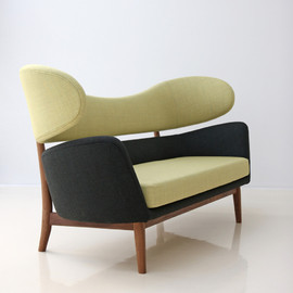 one collection, Finn Juhl - The Baker Sofa (Wing Back Sofa)