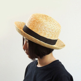 NAPRON - 【新商品】FARMER STRAW HAT_BROWN
