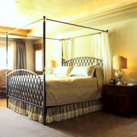 Western Ranch traditional bedroom