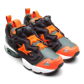 Reebok - Pump Fury - Darkest Olive/Blazing Orange
