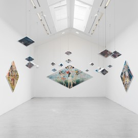 "Aya takano - ""To Lose is to Gain"" exhibition, Perrotin Gallery, 2012"