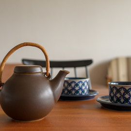 Arabia - GA-1 Tea pot Brown ティーポット