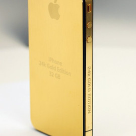 Apple - iPhone 24k GOLD EDITION