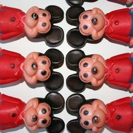 Disney - vintage MICKEY MOUSE toys bowling set