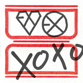 EXO - xoxo hug &kiss version