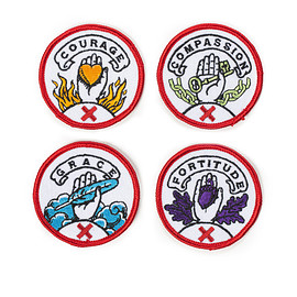 Best Made Company, Ross MacDonald - The C.C.G.F. Badge Set