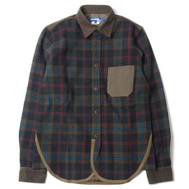JUNYA WATANABE MAN - Mixed Wool Check Shirt