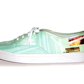 GODDESS - Green Piano Lace Up Shoes