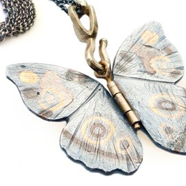 James Banks - Butterfly Pendant