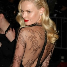style icon - Kate Bosworth, black lace dress